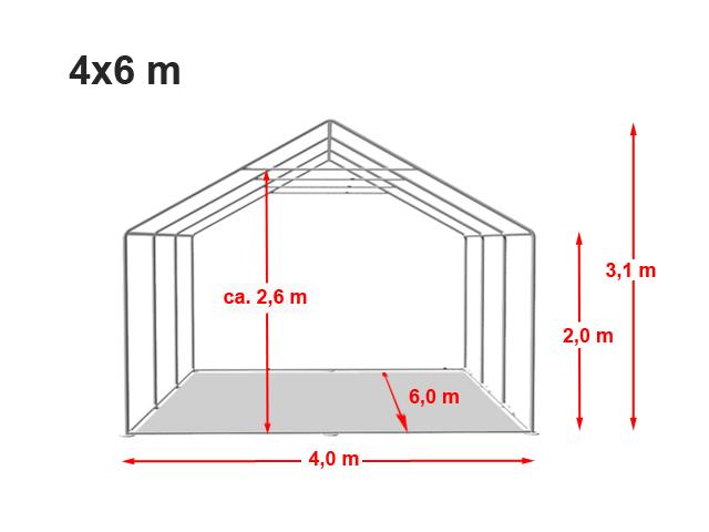 Párty stan Prémium 4x6m